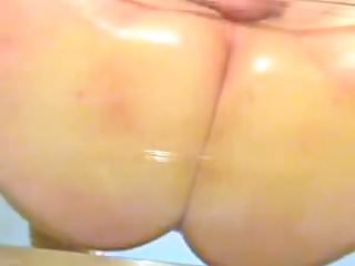 Phat on a glass table...