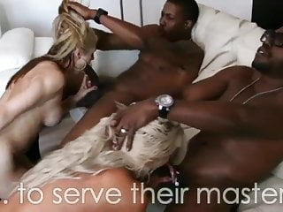 BLACK STORIES ABOUT WHITE WHORES – big black cock PMV BY CURVA71