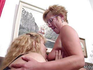 German big tit milf seduce to fuck...