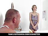familyStrokes - Fucking Her stepdaddy For fathers Day