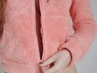 Fuzzy jacket reveal