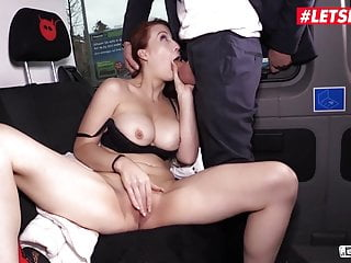 BUMS BUS - Busty MILF Isabella Lui Has Wild Sex In Berlin Van