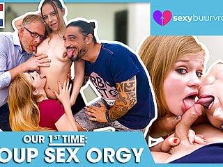 Our first partner swap (DUTCH Porn)! SEXYBUURVROUW.com