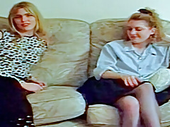 Clascic Ben Dover Cumming of Age: Lisa Thoy and Nicky Berry