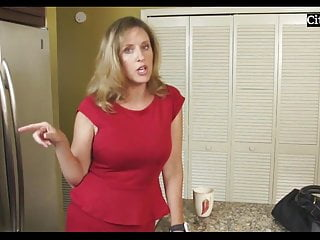 Mature mom fucked with son in bed...