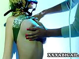 Puma Swede and Madison Scott: Busty Dominatrix And Her Slave