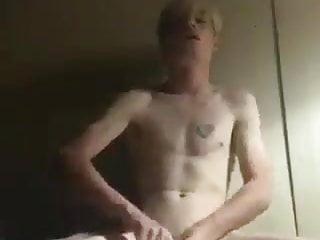 jerking off his cock Tyler