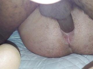 Big black cock up my ass