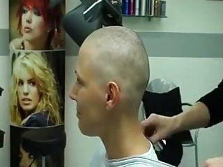 Porn headshaving Forced Head