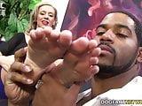 Kaylee Hilton takes BBC with her sexy feet