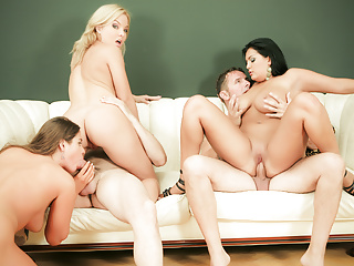 Group fuck site milf joins...