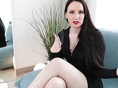 Vanessa in wite pantyhose