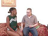 ebony cheerleader