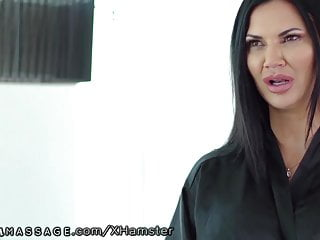 NuruMassage Brit MILF Jasmine Jae Seduces Cop