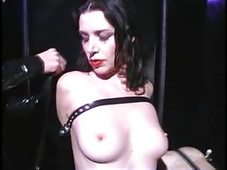 Lesbian sluts bound in leather