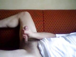 Guy jerking off Nice cum shot