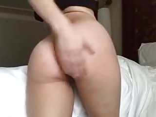 Lily spanking her tight...
