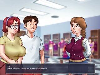 Nude at school pt 1...