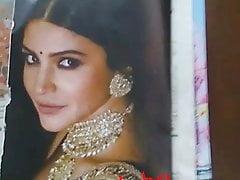 Anushka Sharma spit and cum tribute