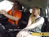 Fake Driving School Ex learner Satine Sparks arse spanked re