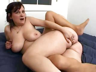 Saggy tits dick...