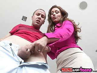 Moms Bang Teens – Couple and mommy makes three