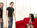 Mature sexbombs moms take young cocks