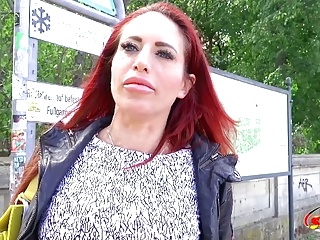 Redhead milf stacey casting...