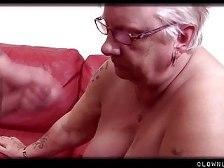 Full grown BBW Granny Accumulates Vagina Licked and Pounded