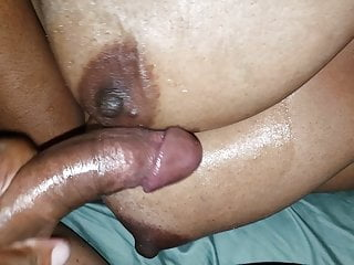wife's on tits again ebony Cum big