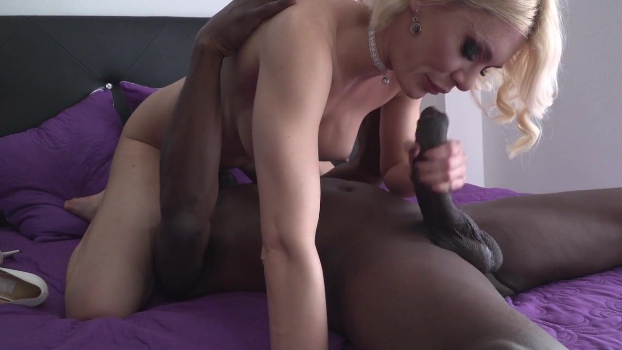 Kitana Lure is dilated anus by a big black cock