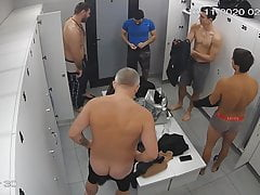 locker room spycam - fit daddy with great assPorn Videos