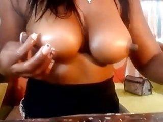 Ebony nipples...