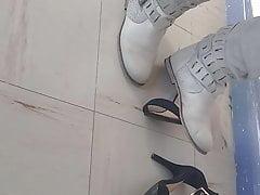 Boots crush heels