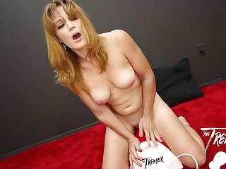MILF Kate takes The Tremor for a spin