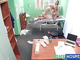 FakeHospital Doctor and nurse team up and pleasure wife