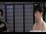 BDSM Threesome In Stockings