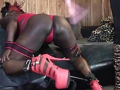 Blaque Platinum Spanked and Tickled