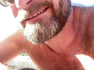 Seattle Dad Talking Dirty at the Nude Beach