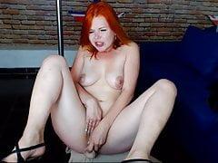 hot young redhead cam-slut