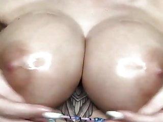 Top fake tits teasing...