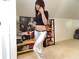 Shiny pants. JOI