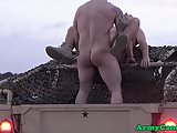 Military amateur anally pounded after bj