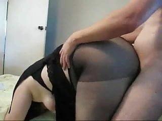 Fat slut Ramona fucked from behind