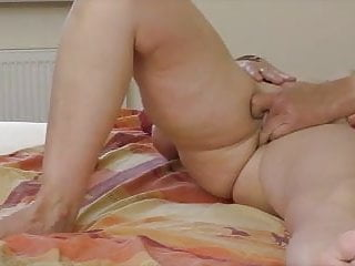 Busty blonde receives a naughty massage with happy finish.