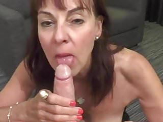 British mature georgie blowjob 2...