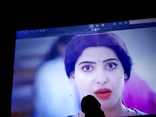 Prabhu facial Ruth cum Samantha hot #6 spit