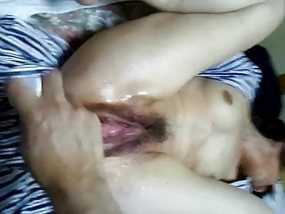 furin wife squirts with dildo in the pussy and assHD Sex Videos