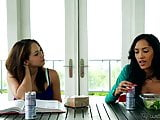 Sara Luvv and Chloe Amour at WebYoung