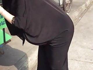 Pr. Turban ebony scarf butt